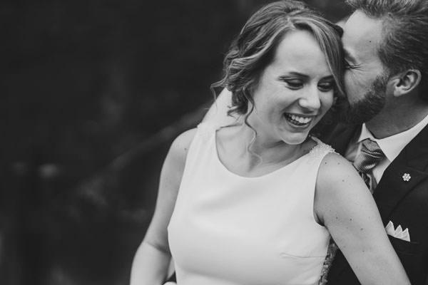 fotografo bodas asturias - Pareja boda felices